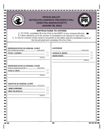 A copy of the ballots designed for the CRTC straw poll.