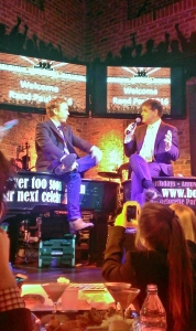 Senator Rand Paul (R-KY) takes questions from Sean Hannity at Bobby McKey's Dueling Piano Bar.