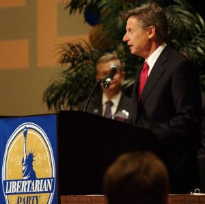 Absent from the debate was 2012 presidential candidate Gary John (photo courtesy of wikipedia)
