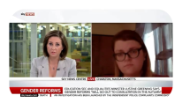Jordan discusses gender policy reforms on Sky News.