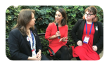 Jordan Evans and Jennifer Williams speak with ABC News at CPAC 2017.