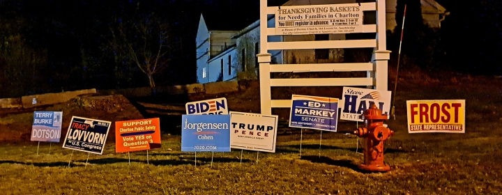 11/3/2020 PRESIDENTIAL ELECTION RESULTS — CHARLTON, MASS.